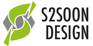 s2soon design logo mobiel