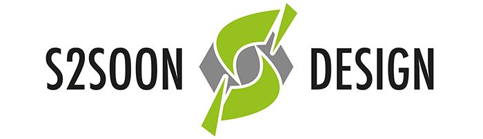 s2soon design logo